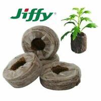 JIFFY7 Torfquelltöpfe Anzucht Grow Stecklinge 25 30 33 35 42 50mm Quelltabletten