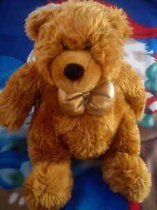 NICE KELL TOYS 40cm Soft Toy Plush Brown Teddy Bear Baby Animal