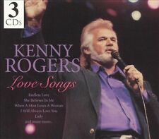 Love Songs [Madacy Box] by Kenny Rogers (CD, Jul-2005,3 Discs, Madacy)! FREE S/H