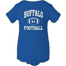 Buffalo Classic Football Arch - American Football Team Sports Infant Creeper