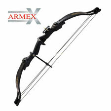 Armex Compound Warrior Bow Kit 20lb Draw in Black With Arrows Last One