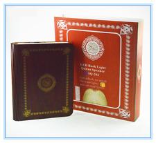 Book Shape Portable Rainbow LED Bluetooth Quran Speaker with Urdu Translation