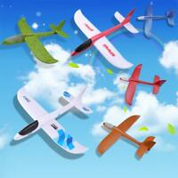 48cm EPP Hand Throw Airplane Outdoor Launch Glider Rotating Plane Kids Gift Toy