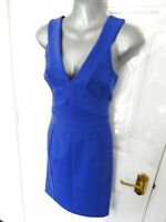 ❤ TED BAKER LONDON Size 12 (3) Blue Purple Tone Stretchy Bodycon Dress Wiggle