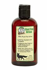 Just Scentsational - Bottle of Red Fox Urine, 8oz - Scares small animals away
