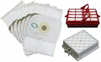 6 HEPA Bags + 2 Filters For Aerus Electrolux P Lux Guardian Platinum Canister