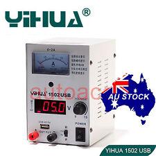Adjustable Variable DC Power Supply Linear Mode 15V 2A USB port OZ