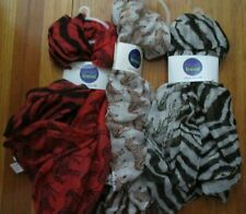 SAX SMART TREND INFINITY SCARF ZEBRAS NEW w/Tag 100% Polyester 3 Colors You Pick