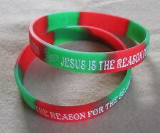 Green Silicone Costume Wristbands