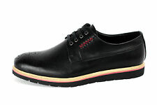 Mens Brogue Casual Lace Up Shoes Smart Formal Office Work Wedding Dress UK JAS