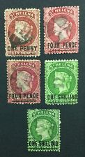 MOMEN: ST HELENA SG # P12.5 CROWN CC USED £150 LOT #5148