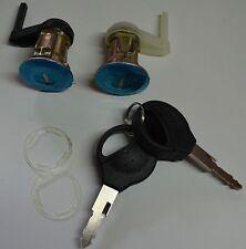 2x Schließzylinder 2x Schlüssel Links Rechts Peugeot 206 98-10