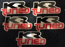Kr Tuned Kenny Roberts Race Decals Stickers Emblems Racing Motorcycle Gp Qty 5