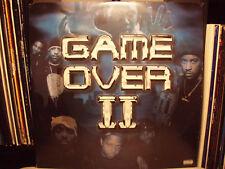 GAME OVER II (VINYL 2LP)  2001!!  RARE!!  DAS EFX + MASTA ACE + KRS-ONE + JERU!!