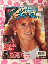Royalty Magazine 1991 The Duchess of York Sarah Collectors Edition #3 NEAR MINT!