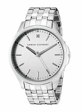 NEW Armani Exchange AX2170 Hampton Silver Stainless steel Men's Watch