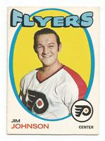 1971-72 O-Pee-Chee #48 Jim Johnson Philadelphia Flyers *