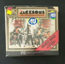 THE JACKSONS - AN AMERICAN DREAM 1992 Mini Series RARE DOUBLE VHS TAPES