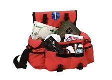 EMT EMS Paramedic Medic Medical Rescue Tactical Response Orange Trauma Bag Pack