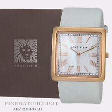 Authentic Anne Klein Women's Light Blue Rose Watch AK/1210RGLB