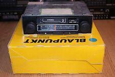 NUOVO Blaupunkt Tempelhof CR RARE VINTAGE 70 S Autoradio MP3 Garanzia NOS in scatola