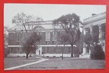 Library Radcliffe College Cambridge MA Unposted Non Linen Postcard