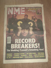NME MAGAZINE / NEWSPAPER DECEMBER 12 1992 THE WEDDING PRESENT PRODIGY AC/DC