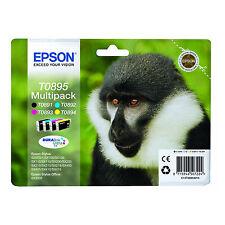 ORIGINALI EPSON T0895 BK C M Y PER Epson Stylus SX400 Series S21 Office BX300F