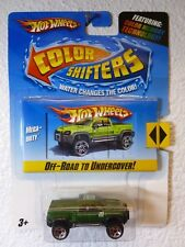 HOT WHEELS Color Shifters - Off Road to Undercover MEGA-DUTY TRUCK