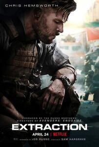 EXTRACTION (DVD 2020) Chris Hemsworth FREE SHIPPING