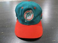 VINTAGE Miami Dolphins Snap Back Hat Cap Green Orange NFL Football Mens 90s A00