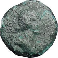 FAUSTINA II Marcus Aurelius Wife Roman Coin Thessalian League Athena i48867