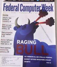 Federal Computer Weekly Magazine Market Investors April 23, 2001 080117nonrh