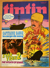 BD Comics Magazine Hebdo Journal Tintin No 43 37e 1982 Star Trek 2