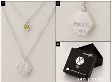 CHANYEOL CHAN YEOL EXO FROM PLANET#2 EXODUS 2016 NECKLACE KPOP NEW SING FOR YOU