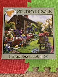 American Garden -  500 Piece Jigsaw Puzzle - Bits and Pieces