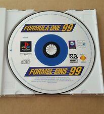 PS1 Formula One 99 - PS1 PLAYSTATION 1 PAL