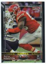 2015 Topps Chrome Football #59 Justin Houston Kansas City Chiefs