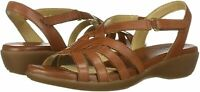 Naturalizer Women's Fairmont Sandal, Saddle Tan, Size 9.5 YQbO