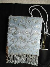 Women's Handbags & Purses Sasha Fabric & Beaded Crossbody Bag New with Tag