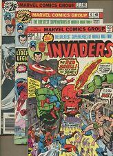 Invaders 5,6,7 *3* 1st Union Jack, Barn Blood! Liberty Legion Origin! Jack Kirby