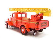 1935 CHEVROLET FIRE TRUCK 1:24 DIECAST MODEL BY UNIQUE REPLICAS 18628
