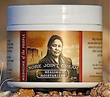Navajo Medicine Of The People Sore Joint Cream Pain Swelling Arthritis 2 OZ New