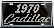 1970 70 CADILLAC METAL LICENSE PLATE ELDORADO COUPE DE VILLE SEDAN FLEETWOOD
