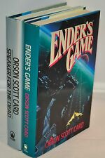 Orson Scott Card - SIGNED & INSCRIBED - Ender's Game & Speaker For The Dead