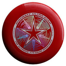 NEW Discraft ULTRA-STAR 175g Ultimate Frisbee Disc - DARK RED
