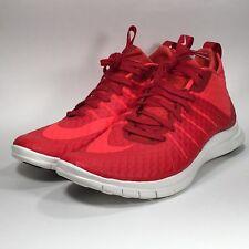 Nike Men's Free Hypervenom 2 FS Running Shoes, 805890-600, Gym Red, US Size 12