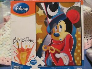 Disney EXPRESSIONS *MICKEY MOUSE - MAGICAL MOMENT* 300 pc PUZZLE - NIB Sealed