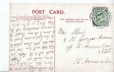Genealogy Postcard - Family History - Stock - St Annes on Sea   U3707