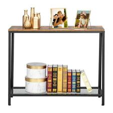 Popular Modern Console Table Sofa Accent w/ Shelf Stand Entryway Hall Furniture